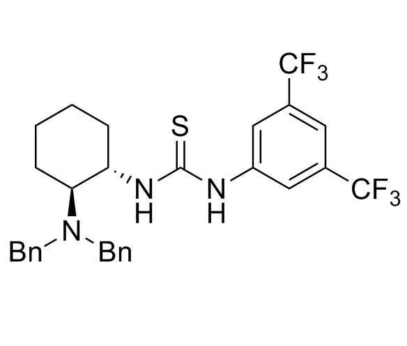 N-[(1S,2S)-2-[Bis(phenylmethyl)amino]cyclohexyl]-N'-[3,5-bis(trifluoromethyl)phenyl]thiourea