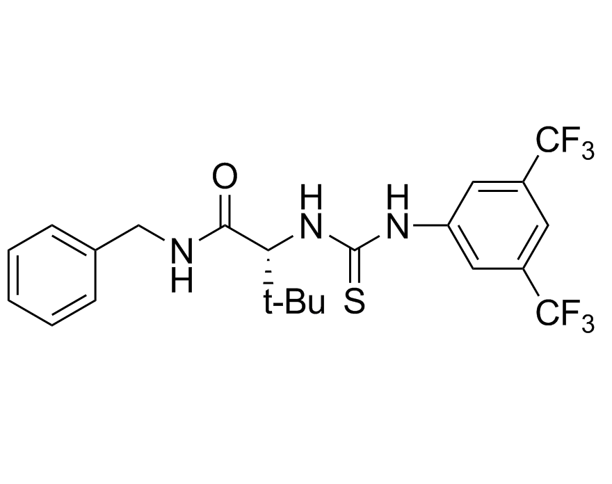 (2R)-2-[[[[3,5-Bis(trifluoromethyl)phenyl]amino]thioxomethyl]amino]-3,3-dimethyl-N-(phenylmethyl)butanamide