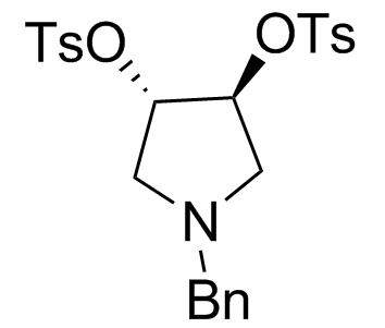 (3S,4S)-1-(Phenylmethyl)-3,4-pyrrolidinediol 3,4-Bis(4-methylbenzenesulfonate)