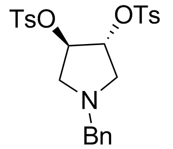 (3R,4R)-1-(Phenylmethyl)-3,4-pyrrolidinediol 3,4-Bis(4-methylbenzenesulfonate)