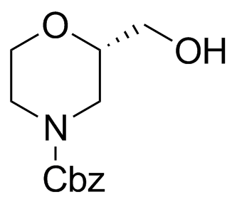 (2S)-2-(Hydroxymethyl)-4-morpholinecarboxylic Acid Phenylmethyl Ester