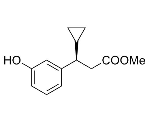 (βR)-β-Cyclopropyl-3-hydroxybenzenepropanoic Acid Methyl Ester