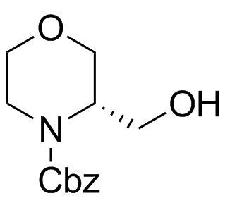 (3S)-3-(Hydroxymethyl)-4-morpholinecarboxylic Acid Phenylmethyl Ester